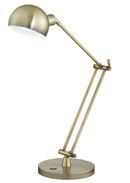 Online Designer Bedroom OTT-LITE Refine LED Antique Brass Desk Lamp