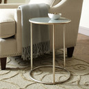 Online Designer Combined Living/Dining Ellison Side Table  - Silver