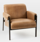 Online Designer Living Room Stanton Leather Chair