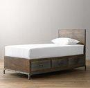 Online Designer Bedroom Industrial Locker Storage Bed