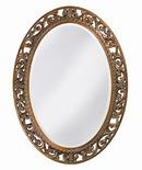 Online Designer Bedroom Oval Antique Bronze Wall Mirror