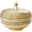 Online Designer Combined Living/Dining palace round brass box
