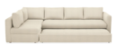 Online Designer Living Room Oxford Pop-Up Platform Sleeper Sofas with Chaise