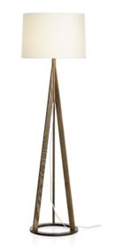 Online Designer Combined Living/Dining Jackson Dark Brown Floor Lamp