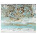Online Designer Combined Living/Dining Coastal Air Abstract Art - 3x4
