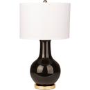 Online Designer Living Room Black Glazed Ceramic Lamp
