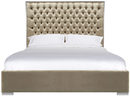 Online Designer Bedroom CHESTER BED (KING- CHAMPAGNE)