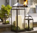 Online Designer Living Room MALTA LANTERN - BRONZE FINISH