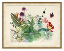 Online Designer Combined Living/Dining 'BETTY'S STILL LIFE' FRAMED PRINT ON PAPER IN GREEN/BEIGE