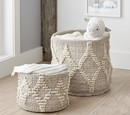 Online Designer Nursery Metallic Woven Storage