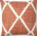 Online Designer Living Room Cross-Hatch Pillow Cover
