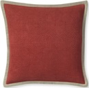 Online Designer Living Room Chunky Herringbone Linen Pillow Cover