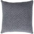 Online Designer Living Room Gray Crochet Pillow