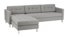 Online Designer Home/Small Office ditto grey sectional