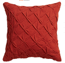 Online Designer Home/Small Office pintuck red-orange 18
