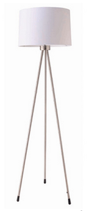 Online Designer Home/Small Office 3 Legged Floor Lamp-white