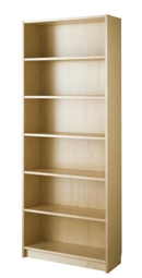 Online Designer Home/Small Office BILLY bookcase-birch veneer