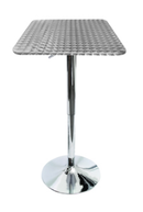 Online Designer Home/Small Office Stainless Steel Adjustable Bistro Bar Table