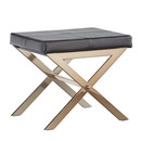 Online Designer Bedroom Silvestre X Base Stool by Kingstown Home