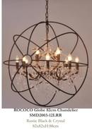 Online Designer Living Room Rococo Globe 82 cm Chandelier