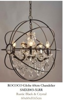 Online Designer Living Room Rococo Globe 60cm Chandelier