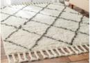 Online Designer Living Room Marrakesh Shag Rug, Natural, 8' Square
