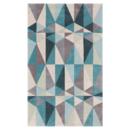 Online Designer Living Room Conroy Teal Blue/Blue Haze Area Rug