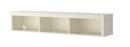 Online Designer Combined Living/Dining HEMNES Wall/bridging shelf, white stain white stained