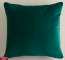 Online Designer Living Room Dark Green Velvet Throw Pillows