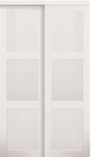 Online Designer Bedroom Baldarassario MDF 2 Panel Painted Sliding Interior Door