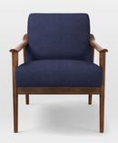 Online Designer Living Room Mid-Century Show Wood Upholstered Chair