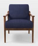 Online Designer Living Room Mid-Century Show Wood Upholstered Chair