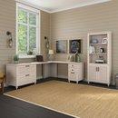 Online Designer Bedroom Volcano Dusk 2 Piece Desk Office Suite