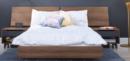Online Designer Bedroom Nexera 400691 Alibi Bed with 2 Nightstands, Full