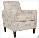 Online Designer Living Room Sutton Chair Tan Filigree