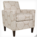 Online Designer Living Room Sutton Chair Tan Filigree