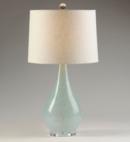 Online Designer Living Room Sandy Blue Glass Table Lamp