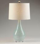 Online Designer Living Room Sandy Blue Glass Table Lamp
