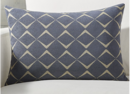 Online Designer Combined Living/Dining Cuomo Jacquard Pillow with Feather-Down Insert 22
