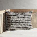 Online Designer Living Room dash black and white pillow