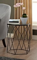 Online Designer Living Room Element Geometric End Table