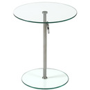 Online Designer Living Room Radinka Adjustable Glass Table
