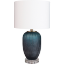 Online Designer Combined Living/Dining Oliver Crystal Base Table Lamp