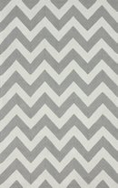 Online Designer Home/Small Office nuLOOM Homestead Soft Gray Meredith Chevron Area Rug