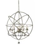 Online Designer Hallway/Entry Leonora 8-Light Globe Chandelier
