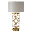 Online Designer Combined Living/Dining Stardust Single-light Gold Leaf Table Lamp