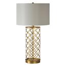 Online Designer Combined Living/Dining Stardust Single-light Gold Leaf Table Lamp