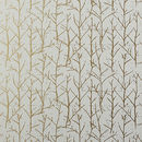 Online Designer Combined Living/Dining crumpled trees metallic traditional paste wallpaper