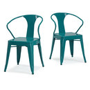 Online Designer Combined Living/Dining Peacock Tabouret Stacking Chair (Set of 4)