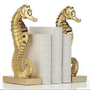 Online Designer Combined Living/Dining Seahorse Bookends